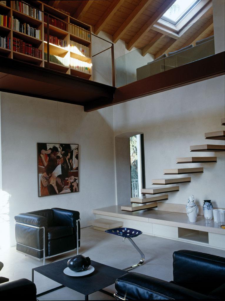 Idee per creare un soppalco nel sottotetto for Piccoli piani di casa francese