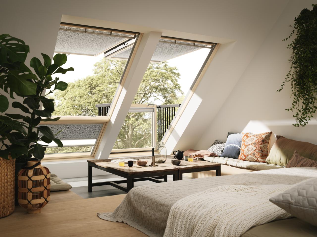 La finestra a balcone belvedere a sorpresa for Finestra per mansarda