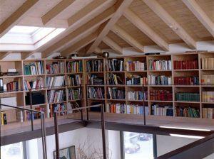 Il fascino di un edificio antico for Libreria velux