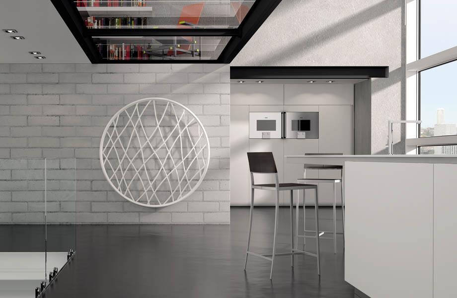 Termoarredo Di Design Radiatori Decorativi Per La Mansarda