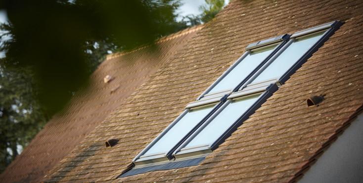 Quali prodotti velux funzionano con motore solare for Finestre x tetti