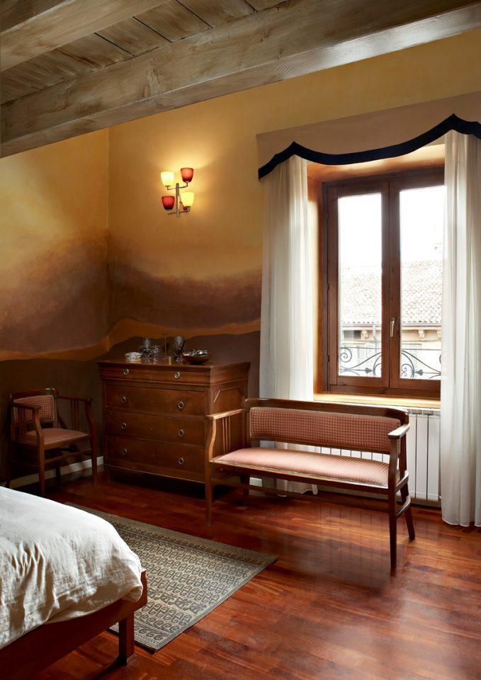 Camera da letto for Camera da letto matrimoniale per mansarda