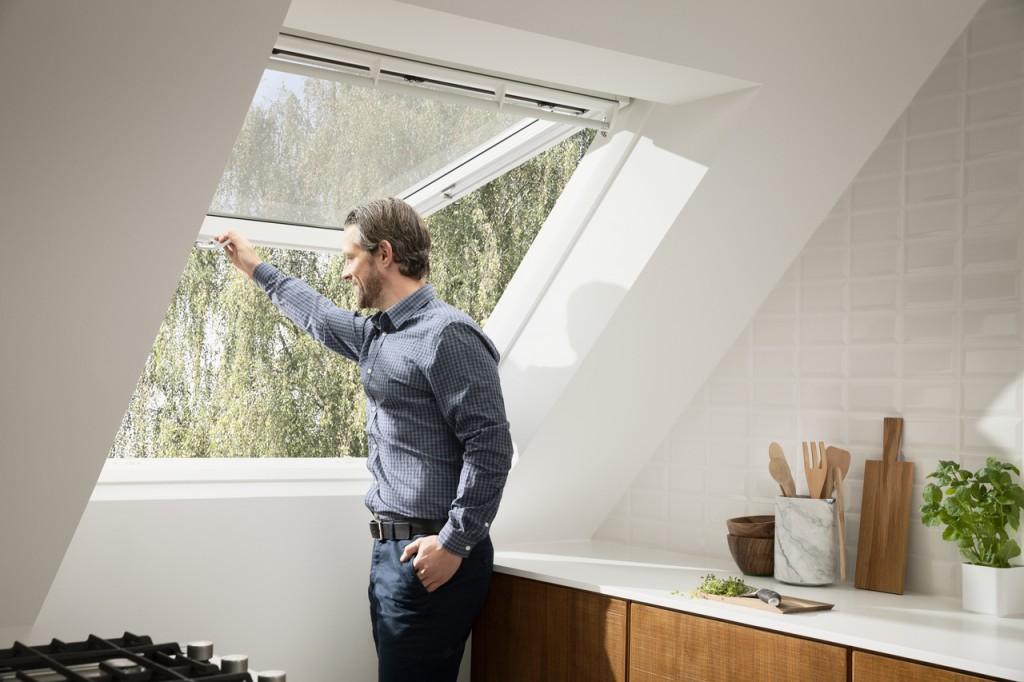 Quali sono le migliori finestre per tetti for Velux motorizzata
