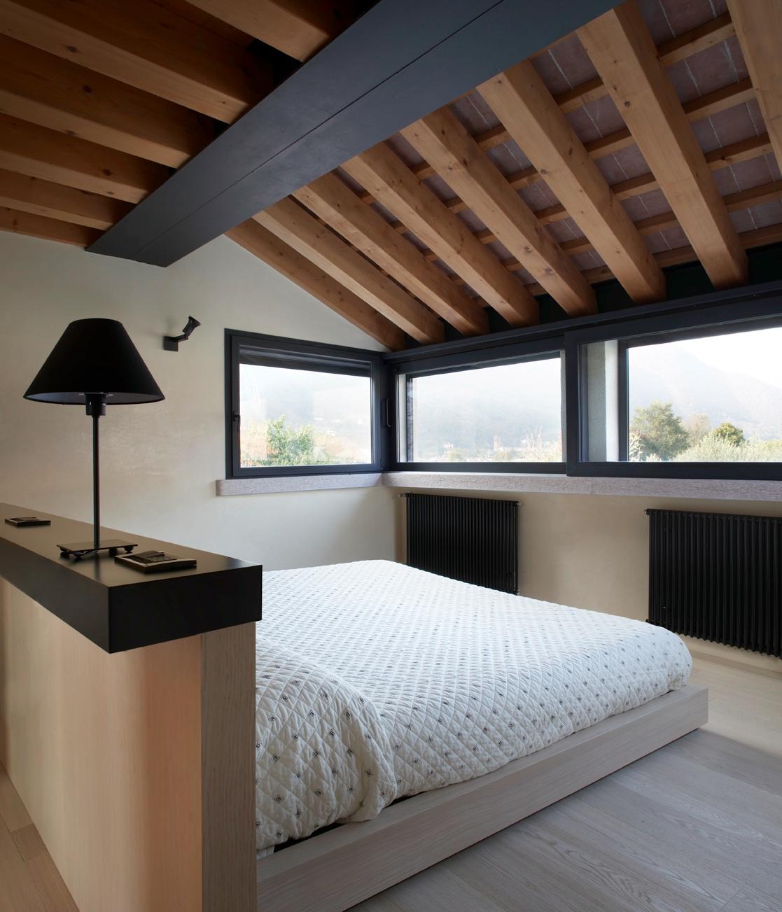 Ristrutturare un rustico e trasformarlo in mansarda casa - Camere da letto in legno rustico ...