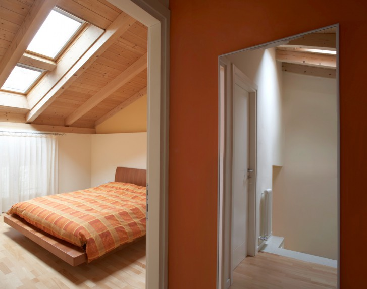 Camera da letto - Cameretta in mansarda ...