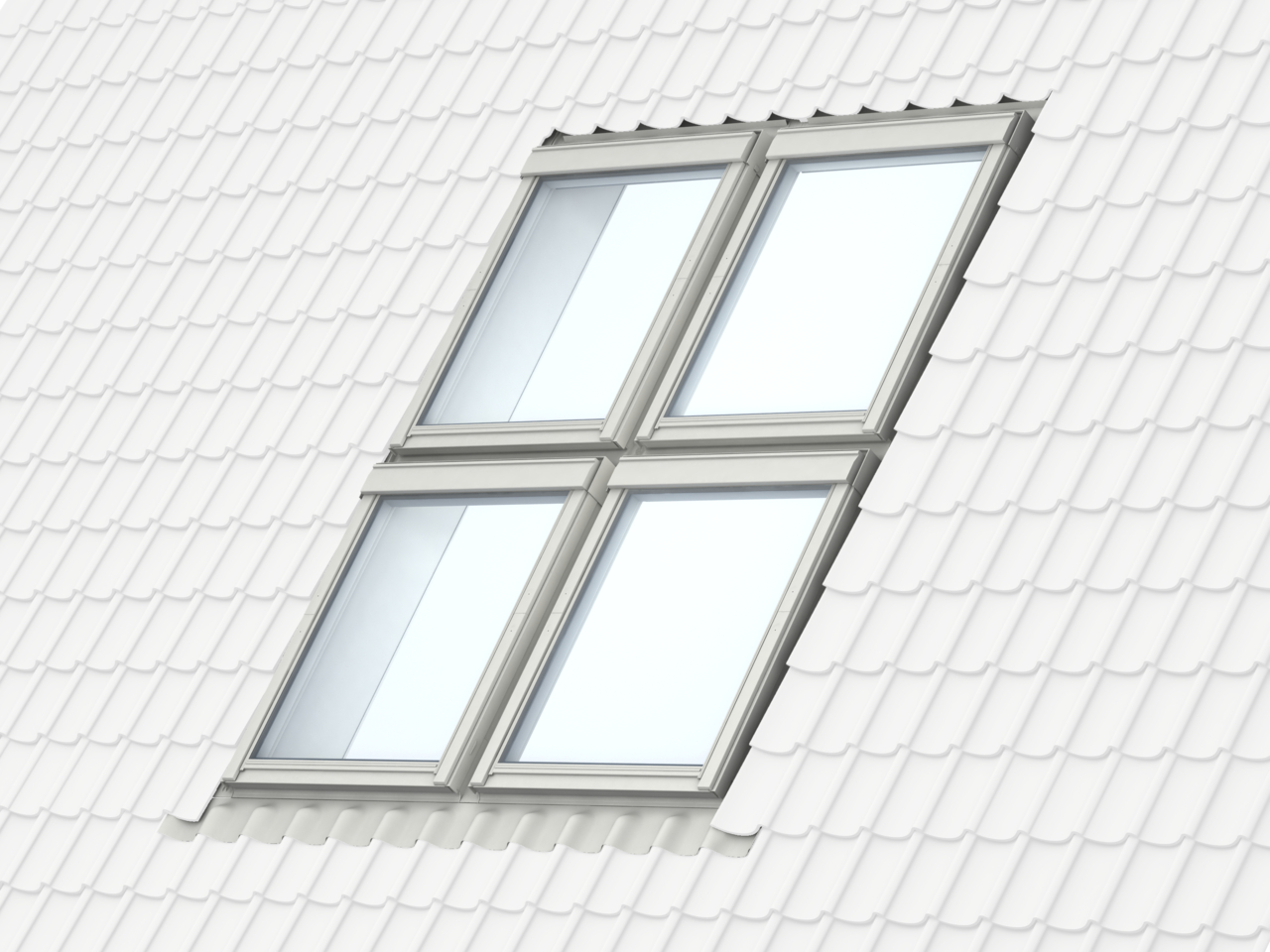 Posizionamento e misure delle finestre per tetti for Misure lucernari per tetti