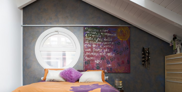 Soffitto Scuro Abbassa : La guida per scegliere i colori mansarda casa ...