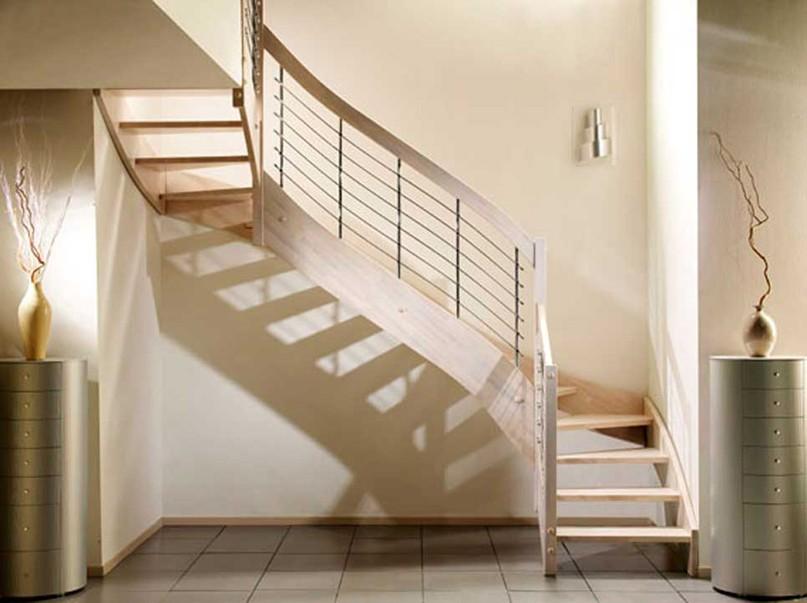 Scale per mansarda ferro e legno dal design moderno casa luce - Scale per appartamenti ...