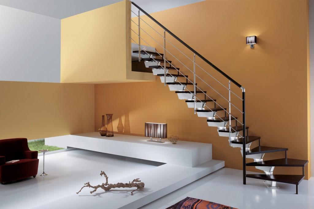 Scale per mansarda ferro e legno dal design moderno - Rintal scale forli ...