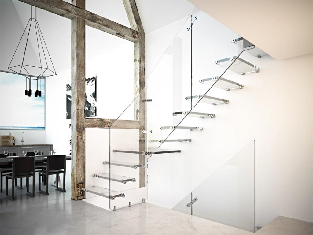 Scale per Mansarda: Ferro e Legno, dal Design Moderno - Casa Luce