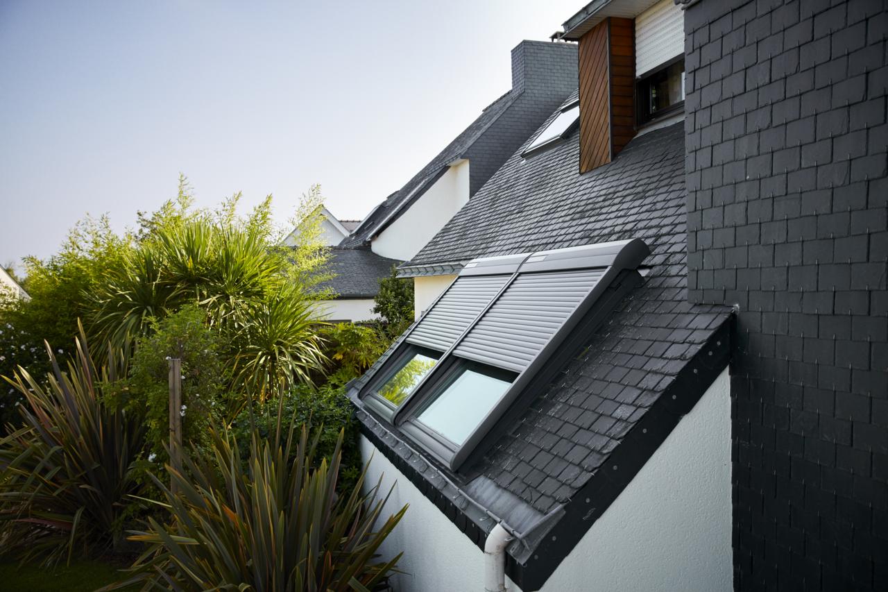 Velux Con Pannello Solare : Niente cavi con la tapparella solare velux integra