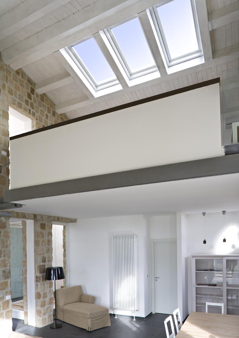 Luce e finestre per tetti
