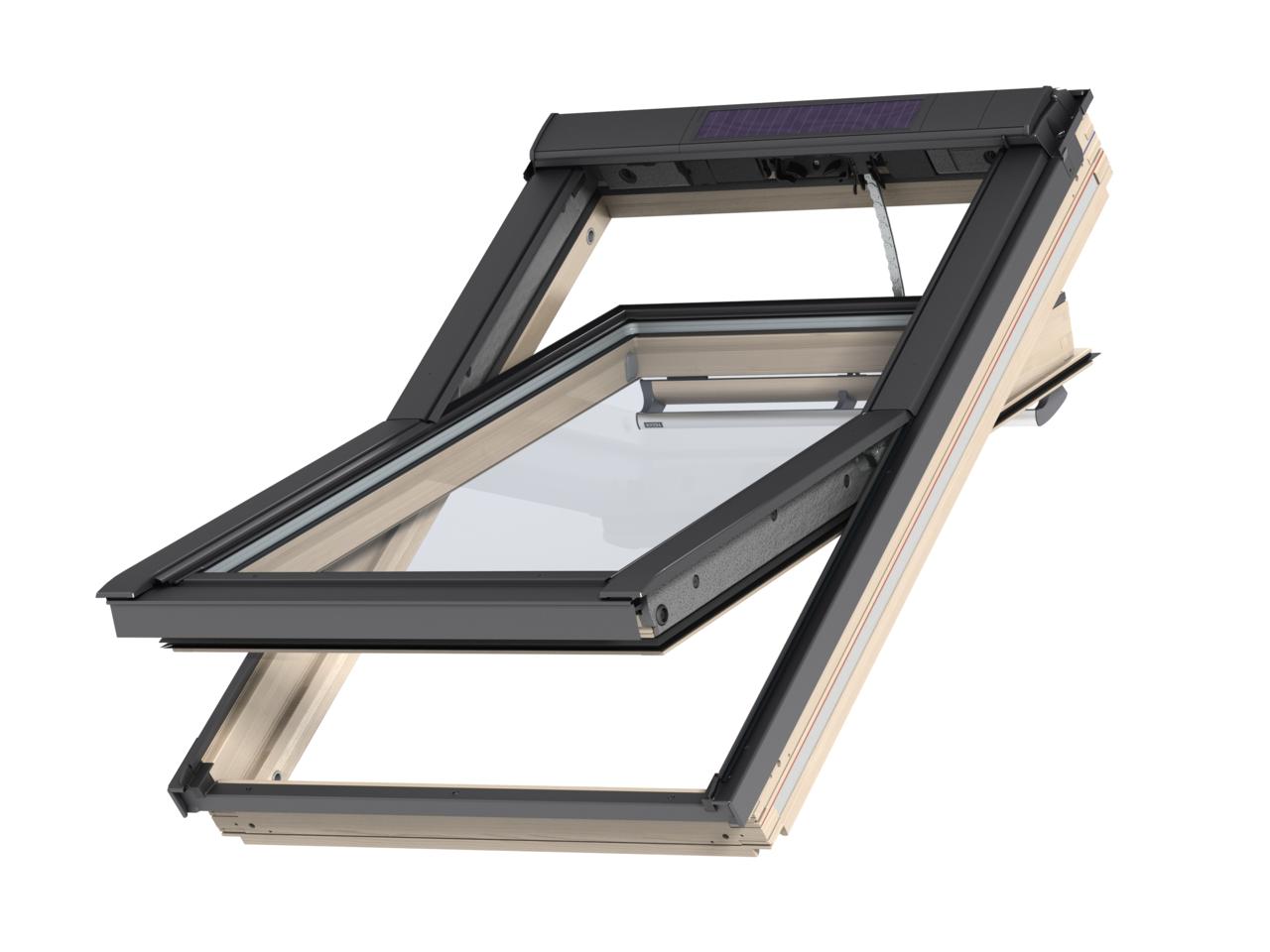 La finestra a energia solare for Velux apertura