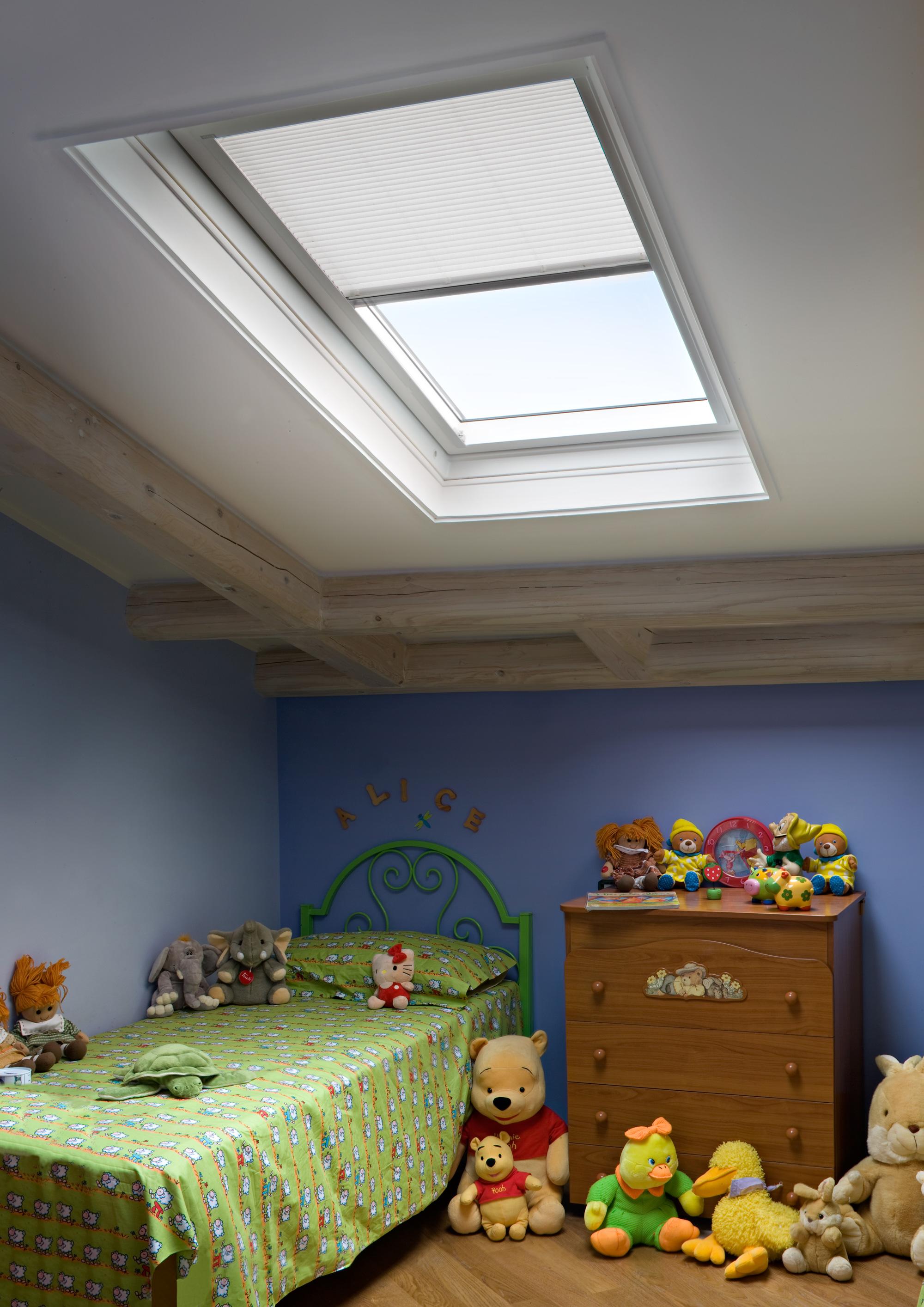 Illuminazione naturale dal tetto