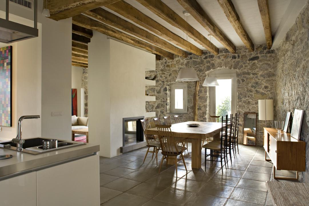 Il recupero di un antico casale ligure - Quanto costa un architetto ...
