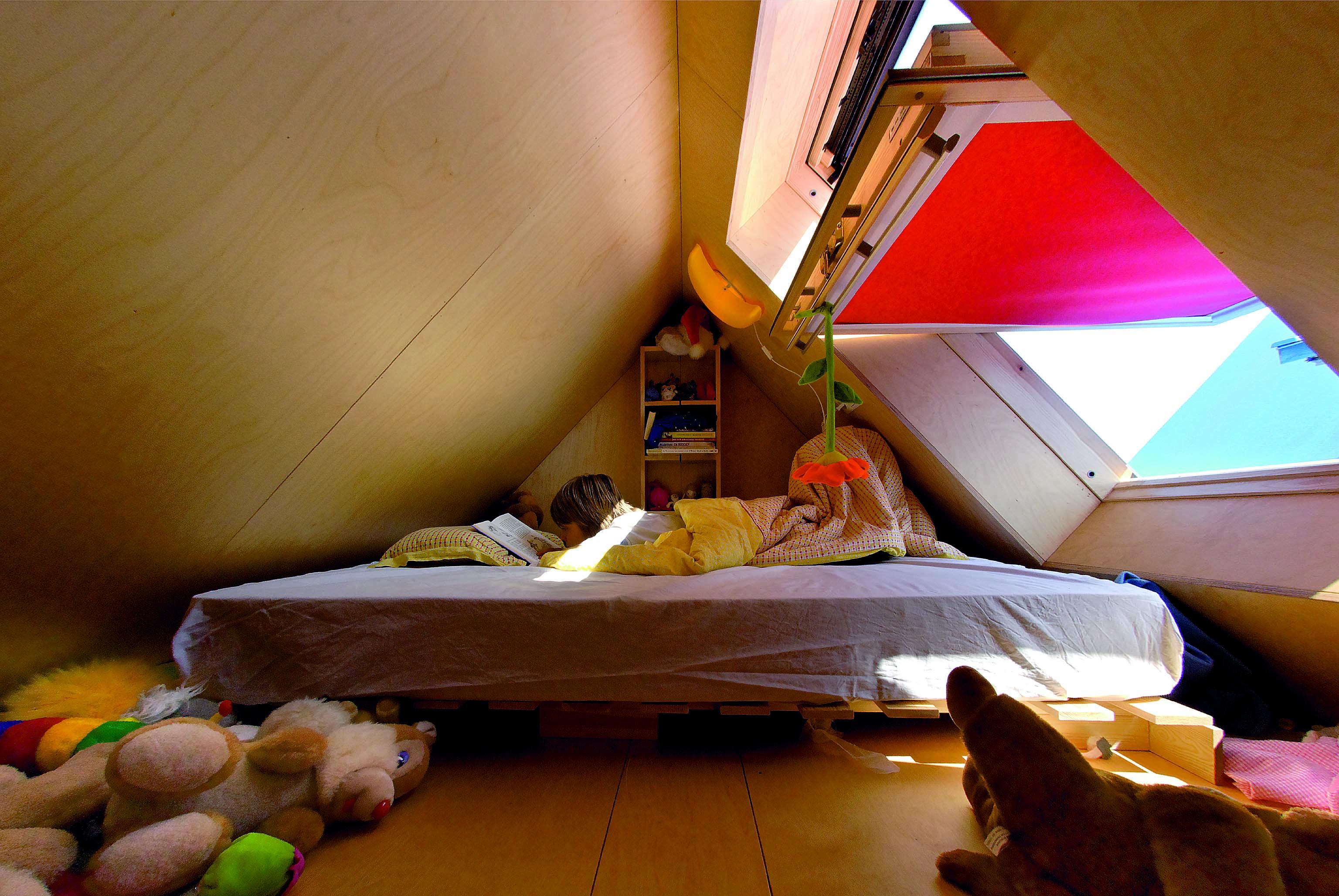 Camera da letto nella casetta