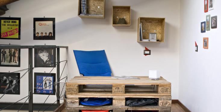 Mobili costruiti con legno di recupero mobili costruiti - Costruire una cucina con materiali di recupero ...