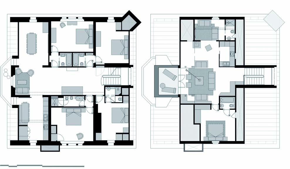 Il restauro conservativo di un sottotetto for Piani di casa con appartamento suocera