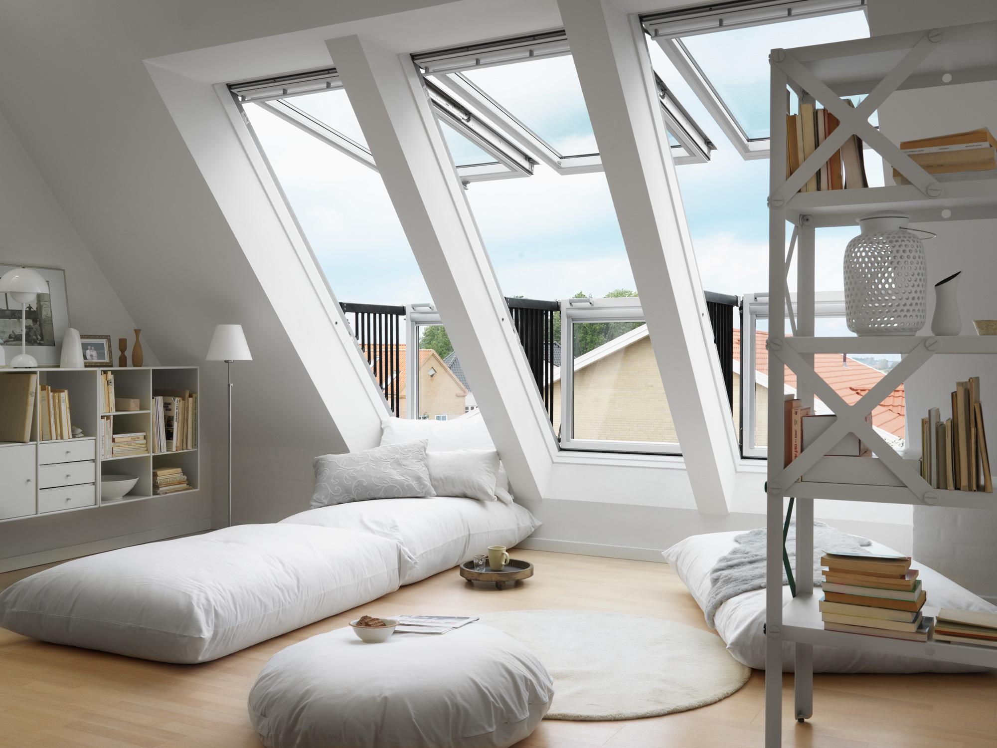 La finestra a balcone: belvedere a sorpresa - Mansarda.it