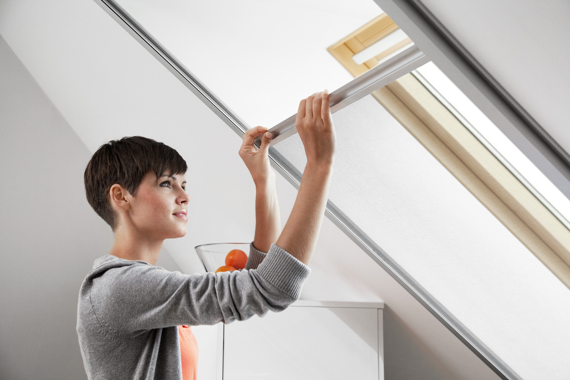 zanzariera velux per finestre a tetto