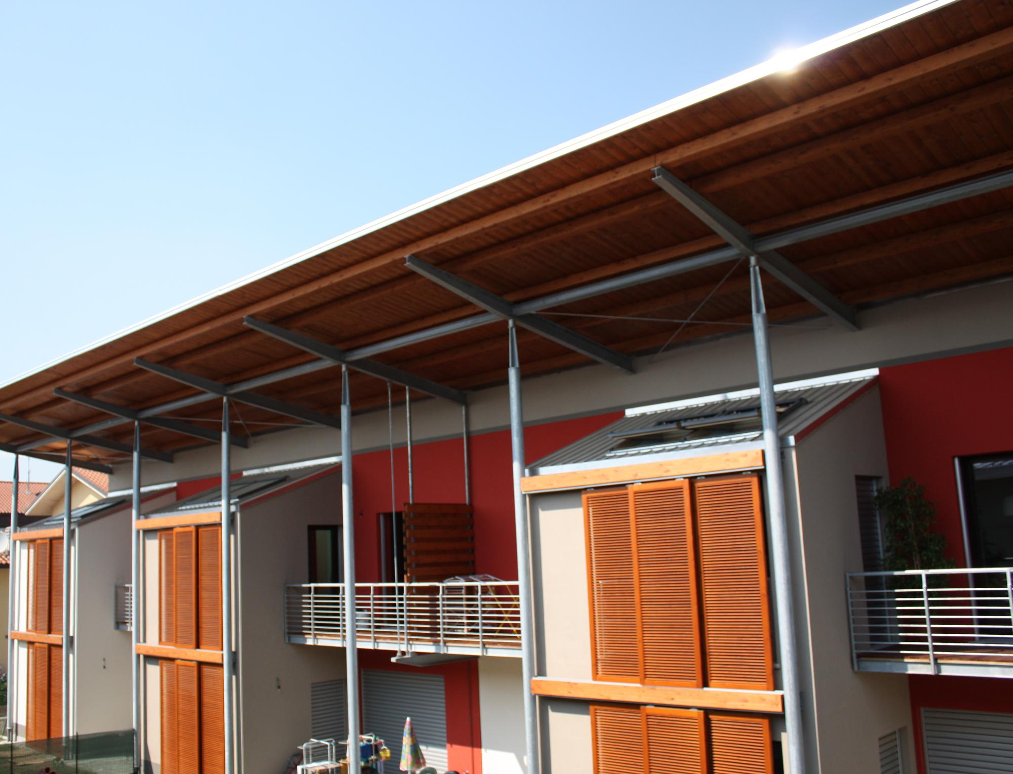 La chiusura di un balcone - Mansarda.it