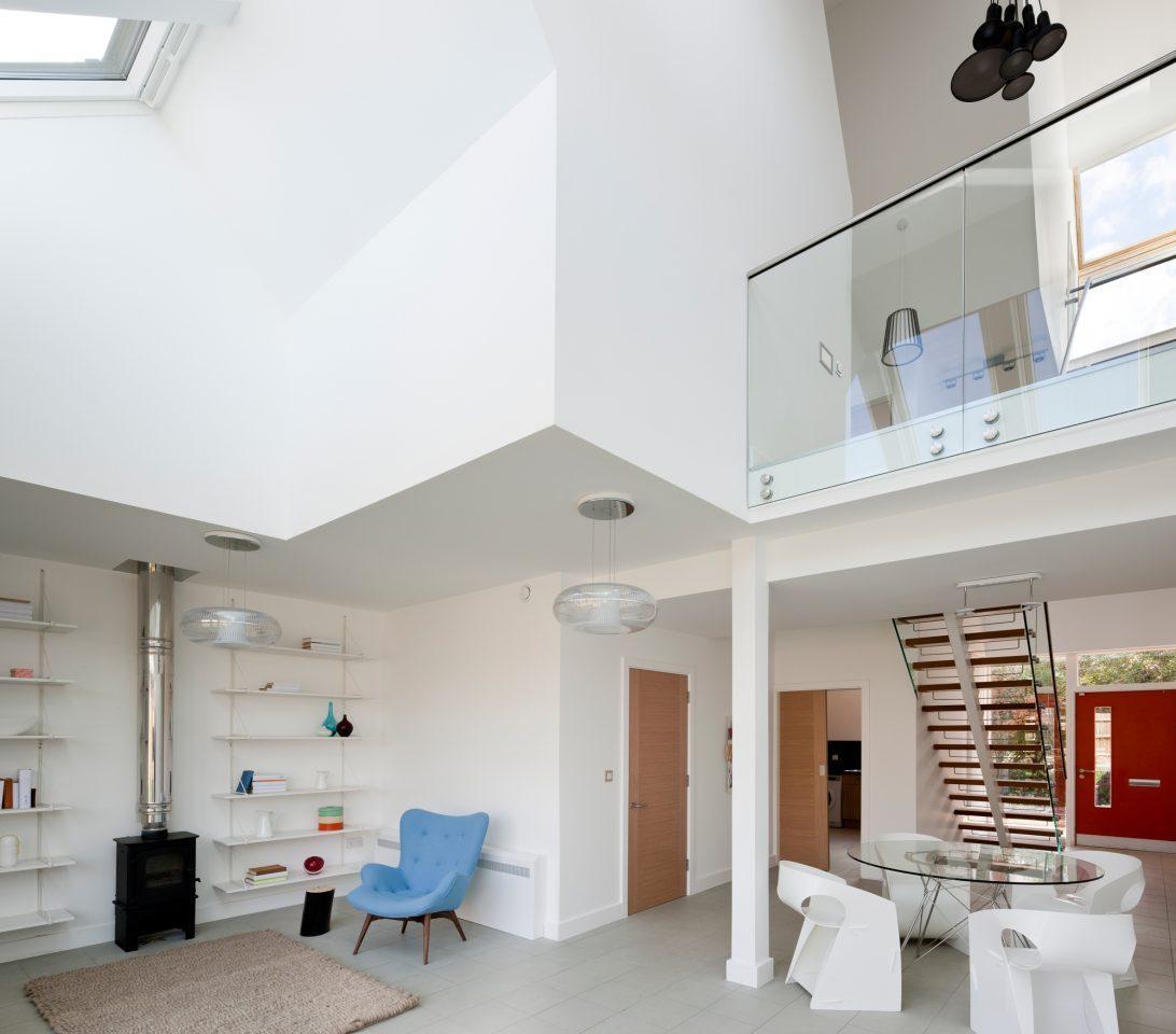 Appartamento mansardato su due piani o duplex for Piani a due livelli
