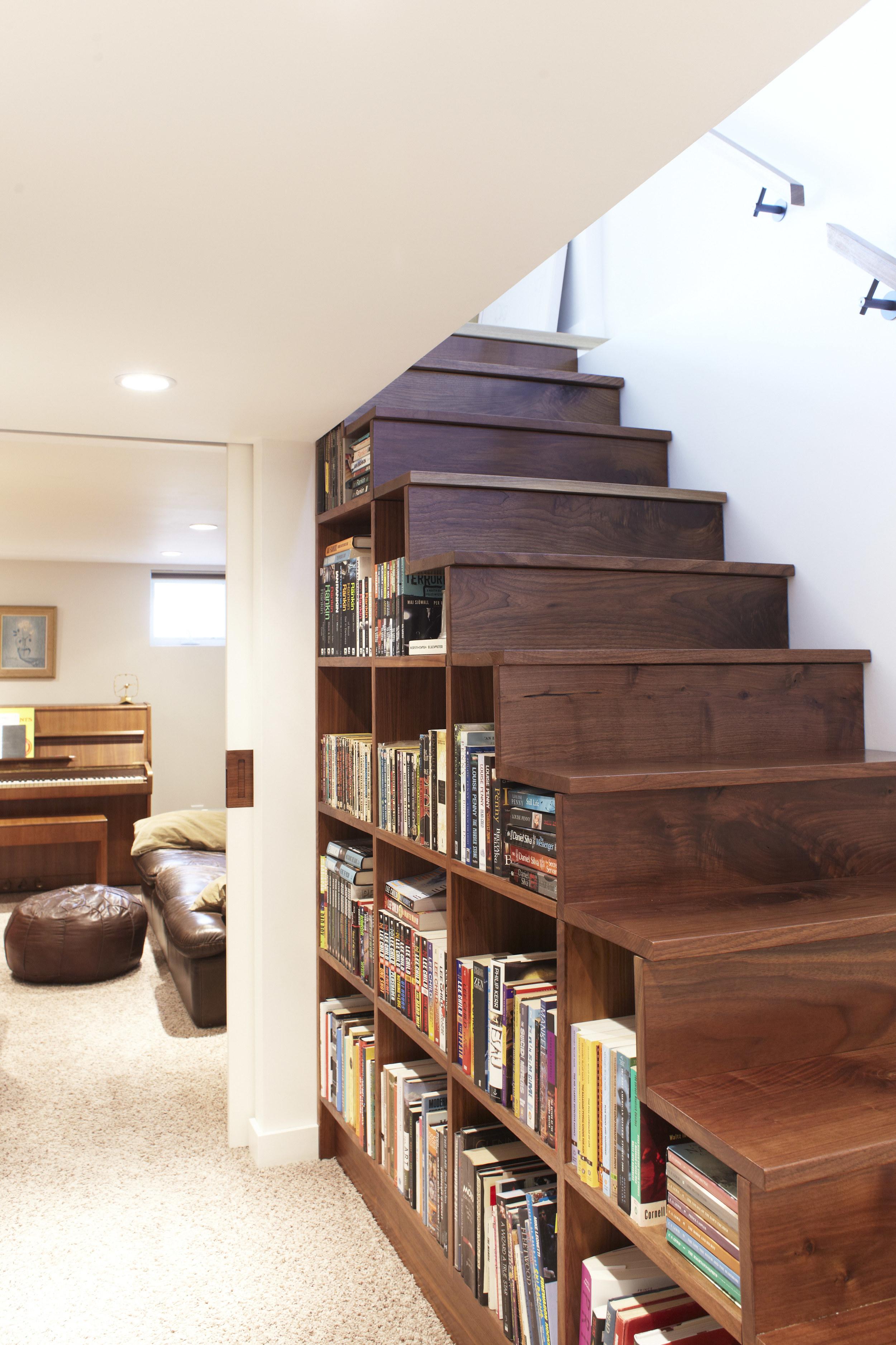 Scale Interne Con Cassetti idee per usare lo spazio sotto una scala - mansarda.it