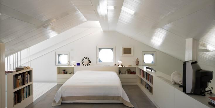 Camera Da Letto Con Parete Obliqua : Camera da letto con parete obliqua