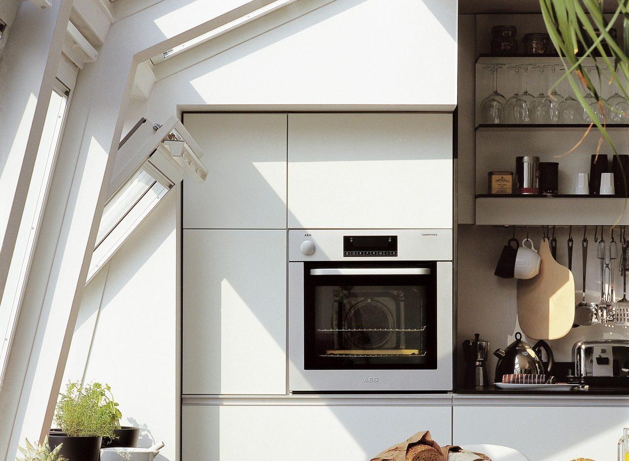 Progettare la cucina in mansarda mansarda