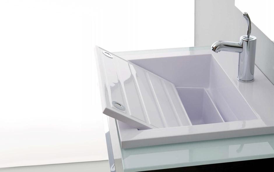4 sanitari trasformabili per bagni in mansarda - Dimensioni lavandino bagno ...