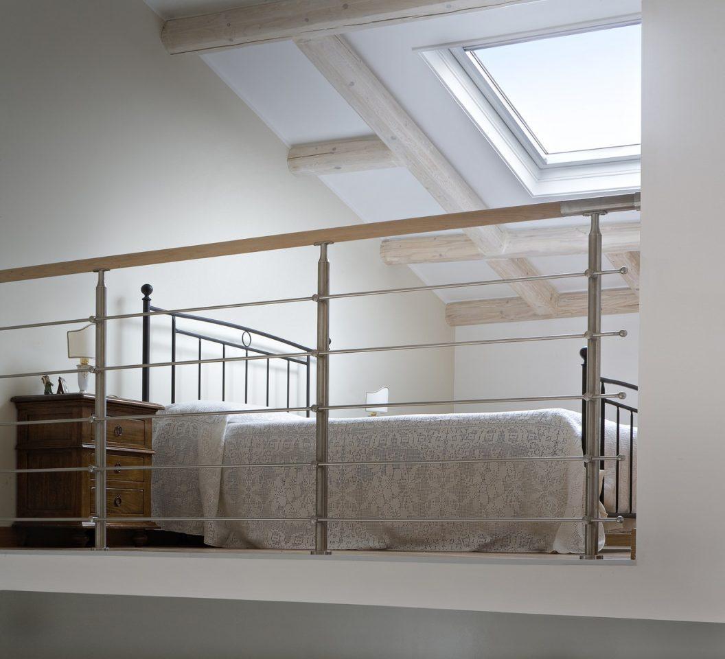 Il letto sul soppalco - Quanto costa una finestra velux ...