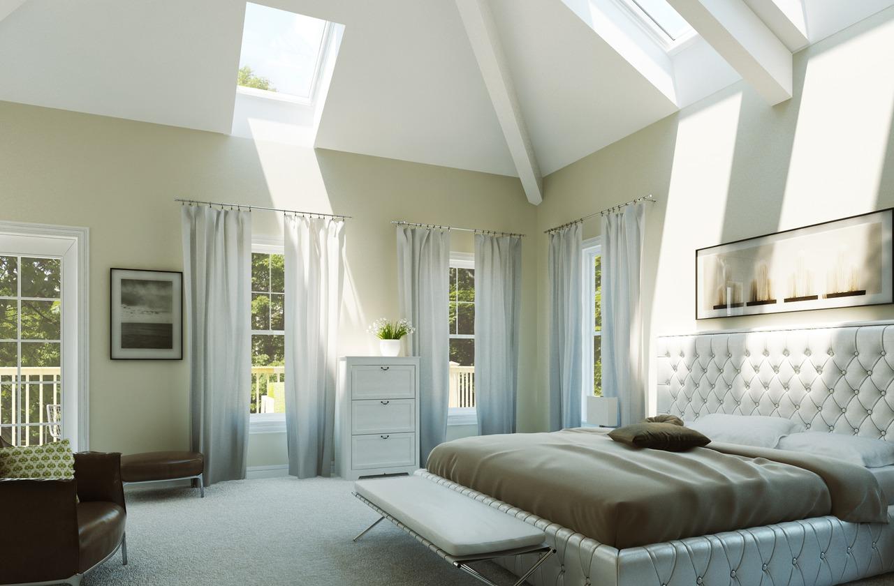 Ispirazione camera da letto - Camera da letto in mansarda ...