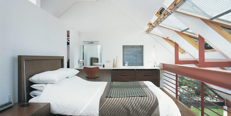 La camera da letto in mansarda ha un fascino particolare : dormire ...