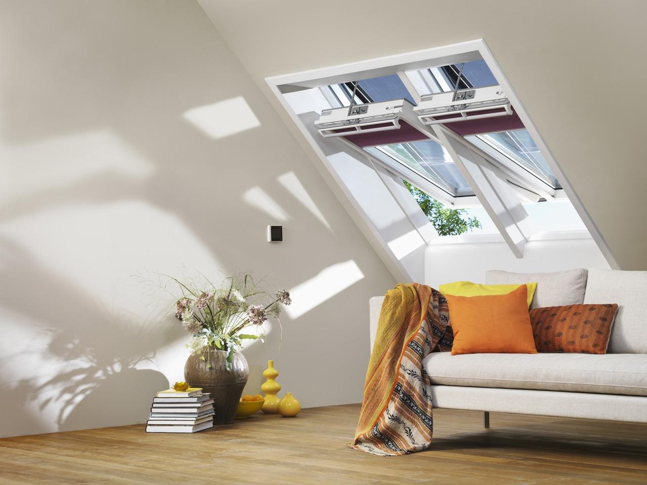 La nuova linea di finestre per tetti velux for Velux finestre per tetti dimensioni
