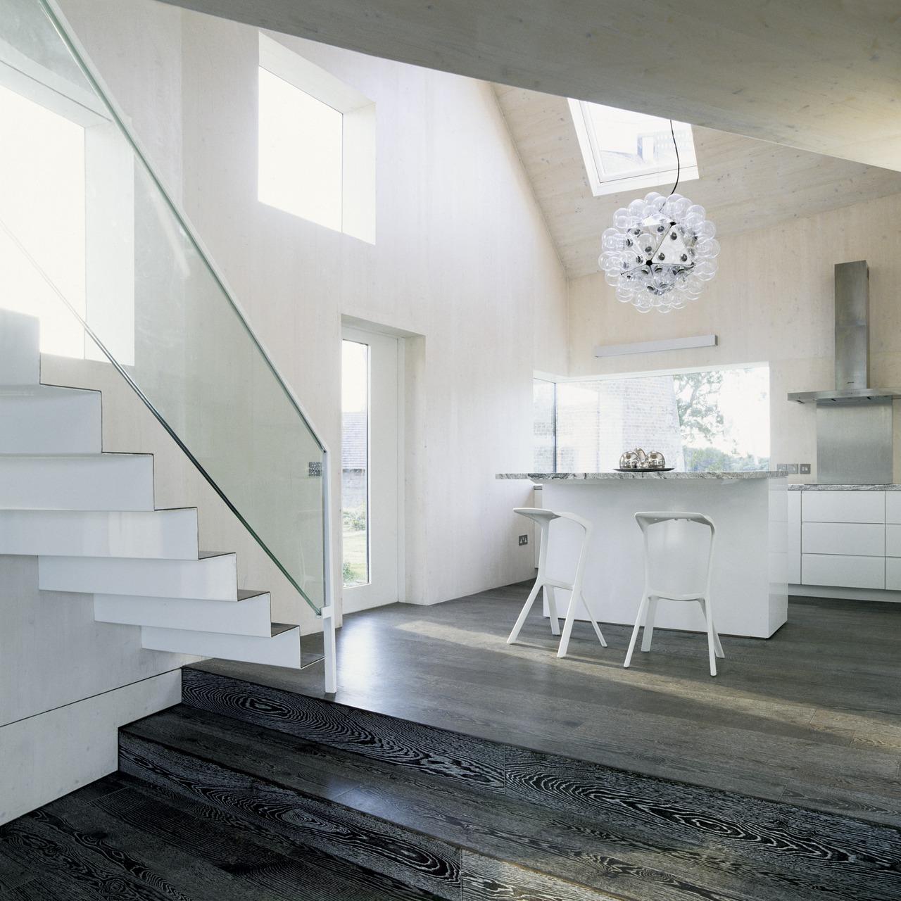 Ispirazione scale for Illuminazione sottotetto legno
