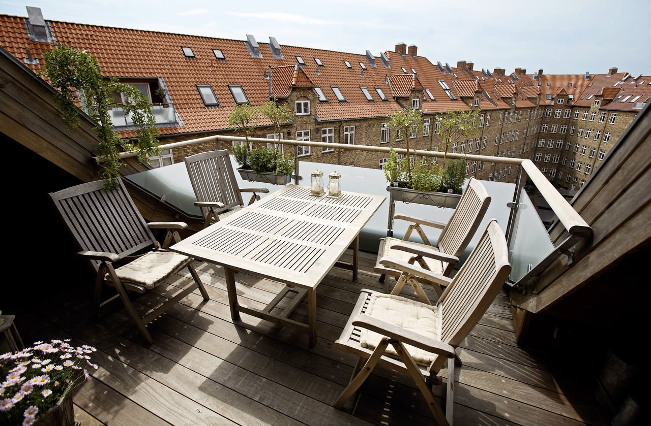 Terrazze in mezzo ai tetti - Giardini sui terrazzi ...