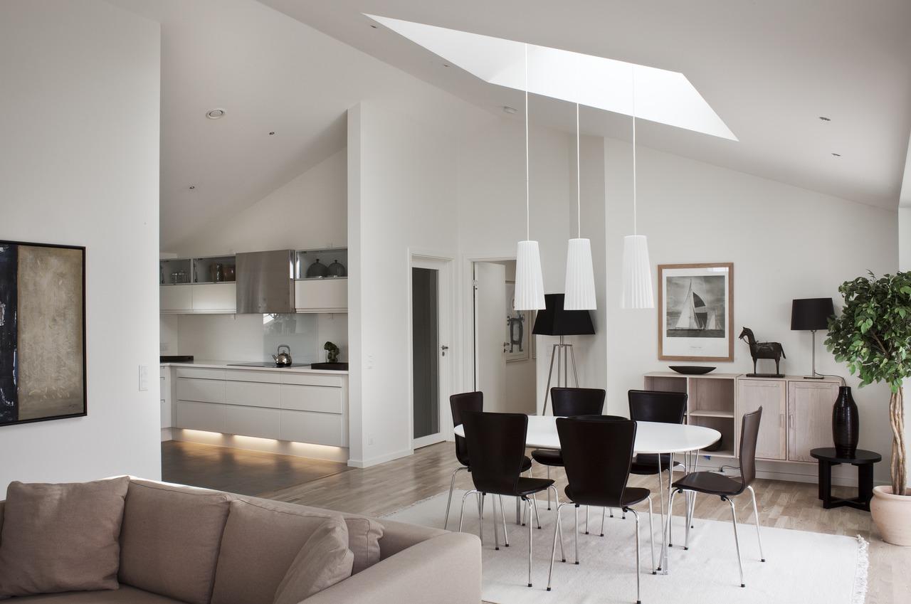I lampadari giusti per la mansarda - Lamparas para salon modernas ...