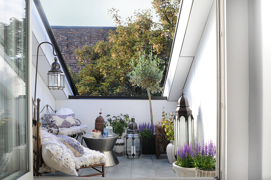 terrazza a vasca. Black Bedroom Furniture Sets. Home Design Ideas