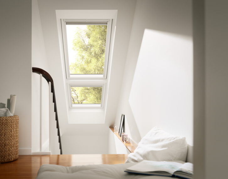 Scala con finestra for Finestra mansarda