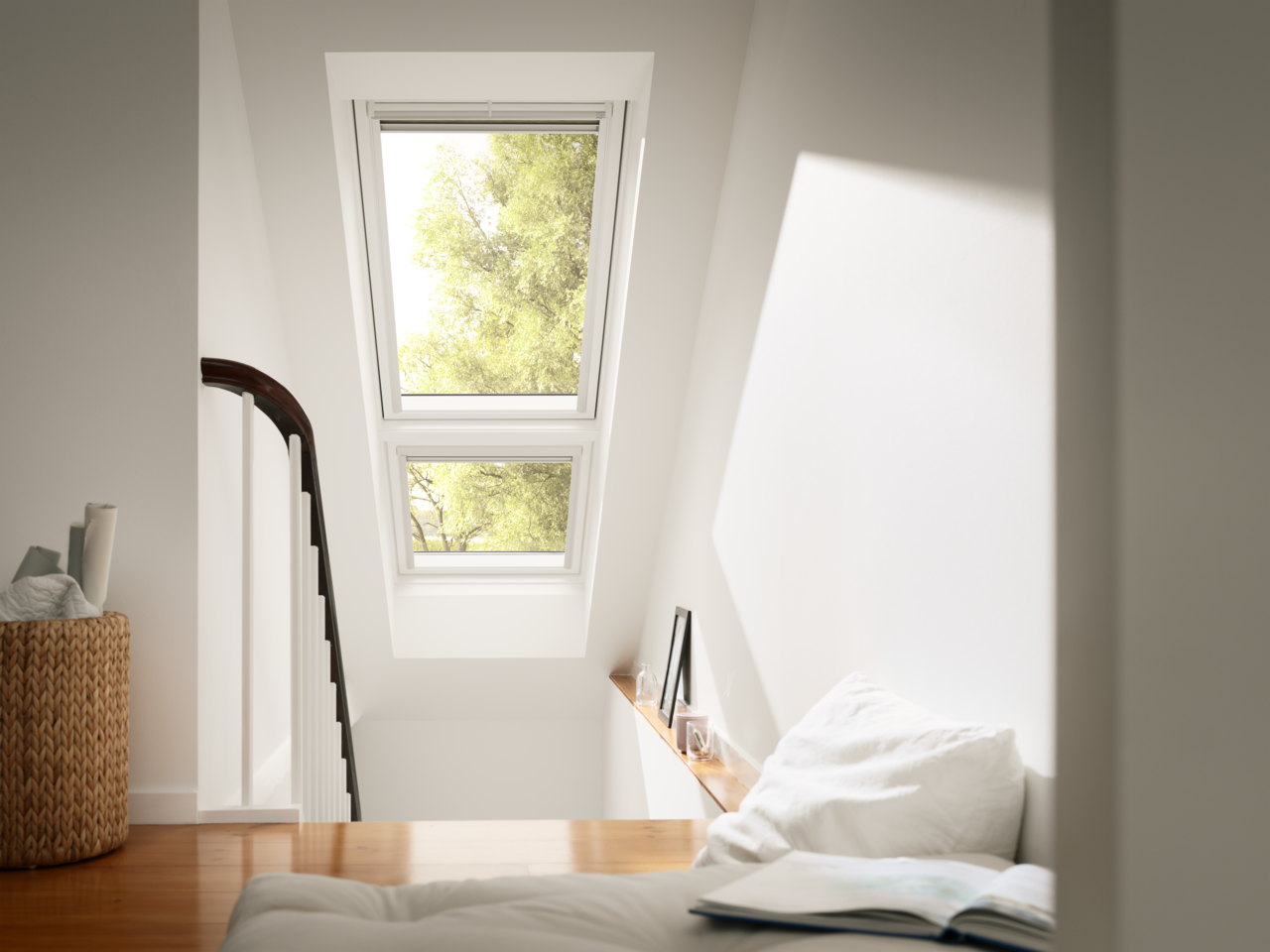 Materiali e finiture delle finestre velux - Quanto costa una finestra velux ...