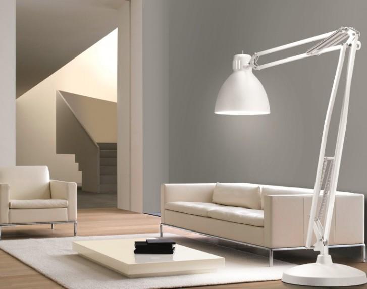 Soggiorno minimalista - Mansarda.it