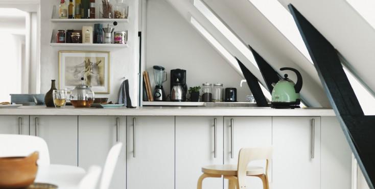idee per ricavare spazio in cucina - Mansarda.it