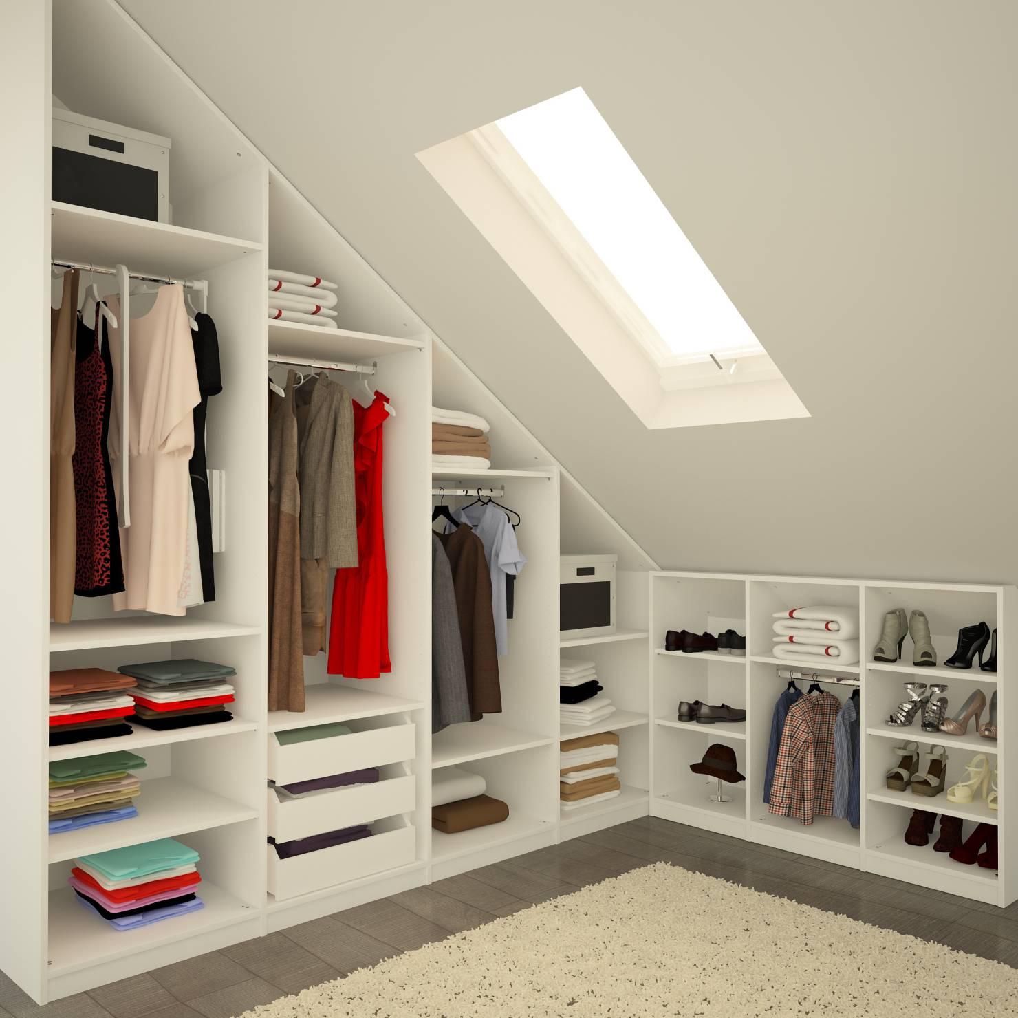 6 modi per organizzare il guardaroba in mansarda - Mansarda.it