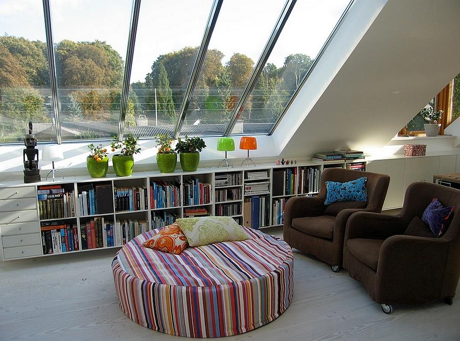 8 idee per trasformare la mansarda nel posto ideale per leggere ...