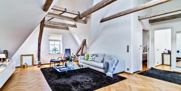 Idee Salotto Mansarda: Tende da salotto moderne scegliere le. Dgm fa ...