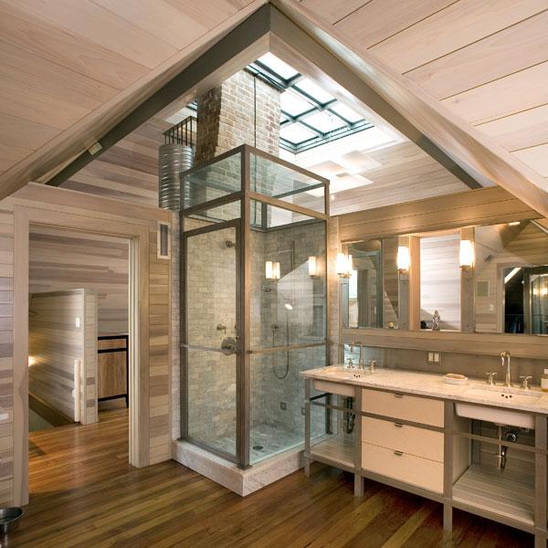 Vivere in un ambiente a doppia altezza for Piani di casa con 3 master suite