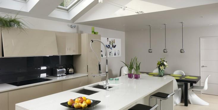 Finestre sul tetto per illuminare la cucina   mansarda.it