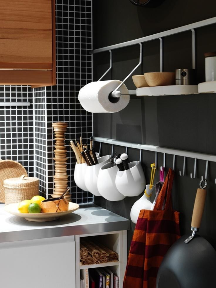 3 idee per ricavare spazio in cucina - Mansarda.it