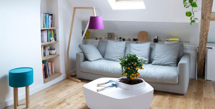 6 progetti 1 che portano il verde in mansarda for Ristrutturare casa fai da te