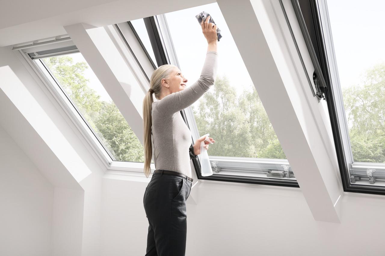 come mantenere una finestra velux sempre come nuova